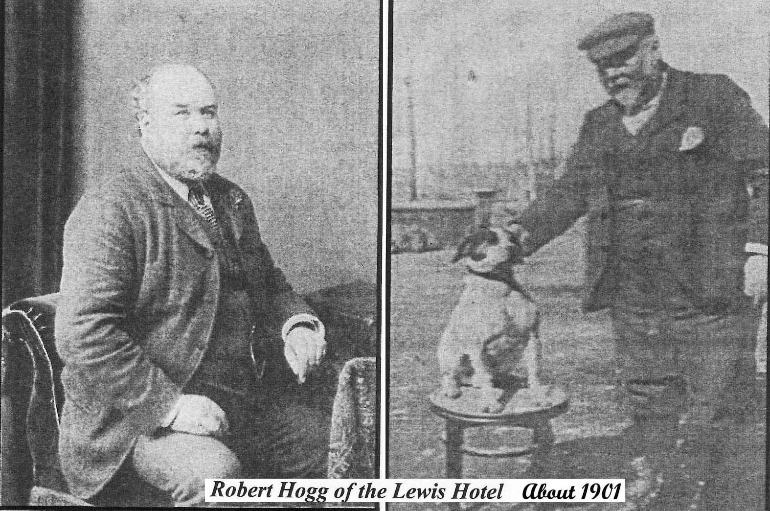 BOBBY HOGG at Lewis in 1901